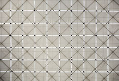 Fabric and Lattice Pattern Stock Photo