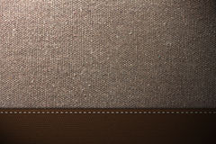Fabric and Leather Texture Stock Image