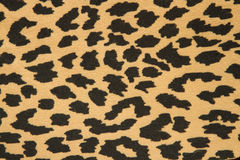 Fabric - leopard skin Stock Photo