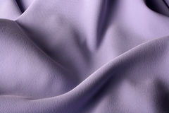 Fabric of lilac colour Stock Photo