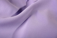 Fabric of lilac colour Royalty Free Stock Photo