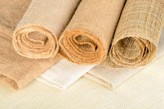 Fabric of linen Royalty Free Stock Photography