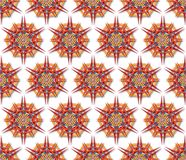 Fabric mandala harsh sunlight Royalty Free Stock Image