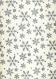 Fabric with metallic snowflakes stock images