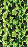 Fabric on military camouflage. On background Stock Photo