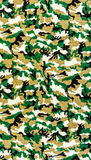 Fabric on military camouflage Stock Images