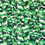 Fabric on military camouflage. On background Stock Photography