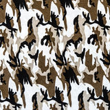 The fabric on military camouflage. For background Royalty Free Stock Image