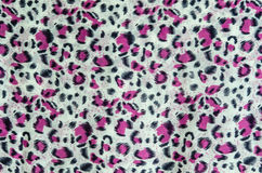 The fabric of motifs leopard Royalty Free Stock Images