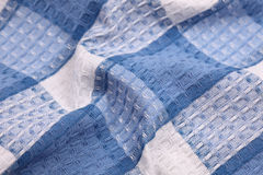 Fabric napkin texture Stock Images