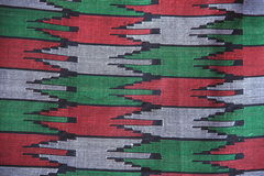 Fabric from Nepal. Royalty Free Stock Images