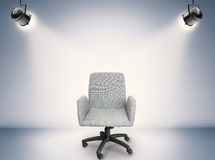 Fabric office chair Stock Image