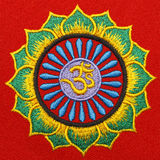Fabric Om Symbol Stock Photo