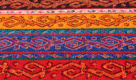 Fabric with oriental pattern Stock Photos