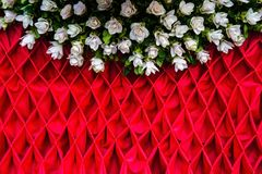 The fabric outdoor decoration Stock Images