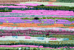 Fabric patchwork background Stock Photo