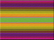 Fabric pattern. Effect colorful fabric pattern background Royalty Free Stock Photography