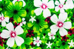fabric pattern floral Royalty Free Stock Photos