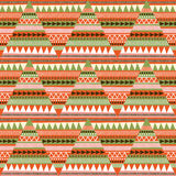 Fabric pattern with geometric pattern Stock Images