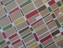 Fabric pattern in nostalgic retro style Royalty Free Stock Photo