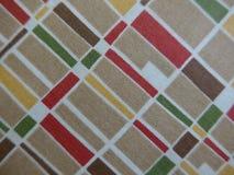 Fabric pattern in nostalgic retro style Stock Photos