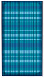 Fabric pattern in tartan design Stock Photography