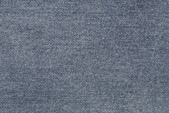 Fabric pattern texture of denim or blue jeans. Royalty Free Stock Photos