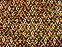 Fabric. Pattern fabric in Thailand Royalty Free Stock Photos