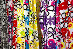 Fabric Patterns Stock Photography