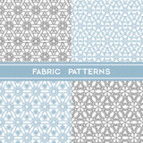 Fabric Patterns Royalty Free Stock Image