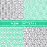 Fabric Patterns Stock Image