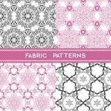 Fabric Patterns Stock Photo