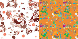 Fabric Patterns Royalty Free Stock Photo