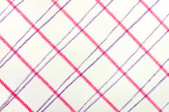 Fabric with pink and purple stripes Royalty Free Stock Images
