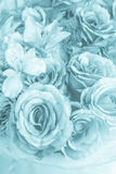 Fabric pink rose Stock Images