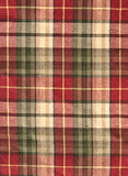 Fabric plaid background in brow Royalty Free Stock Images