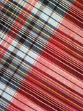 Fabric  plaid Cotton of colorful background and abstract texture Royalty Free Stock Images