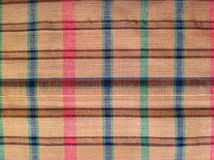 Fabric  plaid Cotton of colorful background and abstract texture Stock Photos
