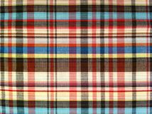 Fabric  plaid Cotton of colorful background and abstract texture Stock Images