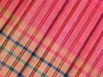 Fabric  plaid Cotton of colorful background and abstract texture Royalty Free Stock Photography
