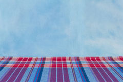 Fabric  plaid Cotton of colorful background and abstract texture Royalty Free Stock Photos