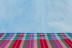 Fabric  plaid Cotton of colorful background and abstract texture Stock Photo