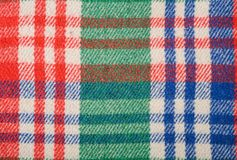 Fabric plaid texture. Cloth background Royalty Free Stock Image