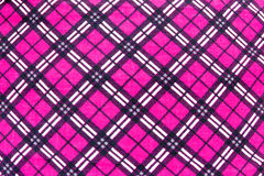 Fabric plaid texture Royalty Free Stock Photography