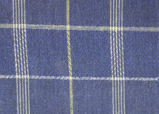 Fabric plaid texture. Royalty Free Stock Images