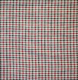 Fabric plaid texture Royalty Free Stock Image