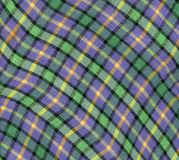 Fabric plaid texture. Cloth background. Royalty Free Stock Image