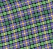 Fabric plaid texture. Cloth background. Royalty Free Stock Images
