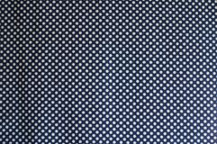 Fabric with polka dot pattern from above. Fabric with polka dot pattern directly from above Royalty Free Stock Image
