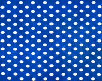 Fabric with polka dots Stock Images